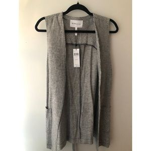 NWT Stripped Vest